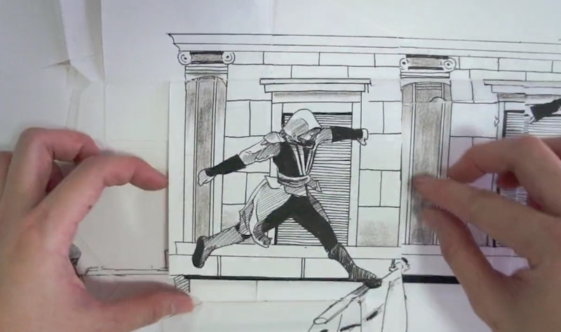Assassin's Creed Paper Parkour