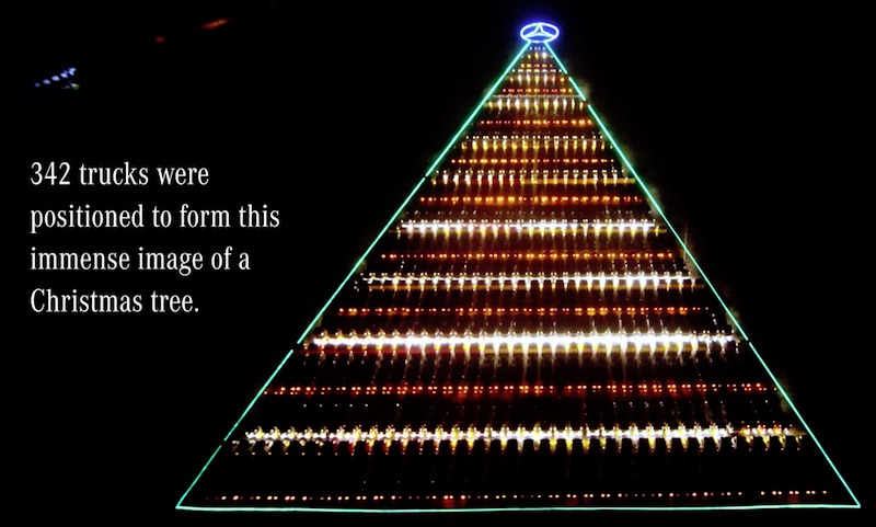 Mercedes-Benz | The World's Largest Christmas Tree