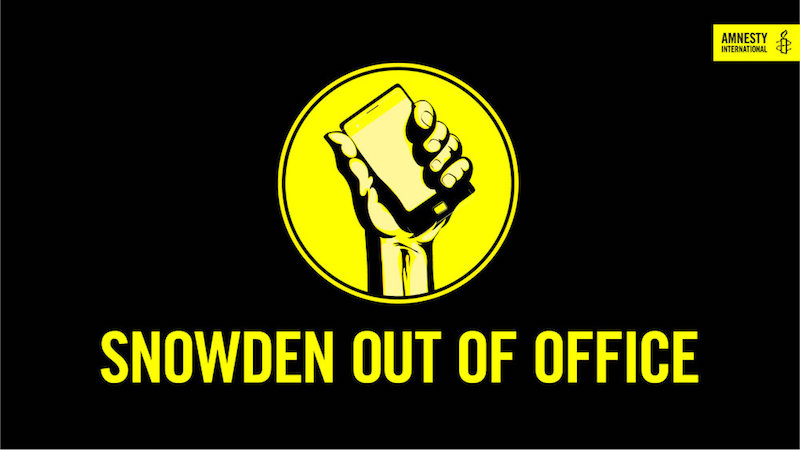 SNOWDEN OUT OF OFFICE