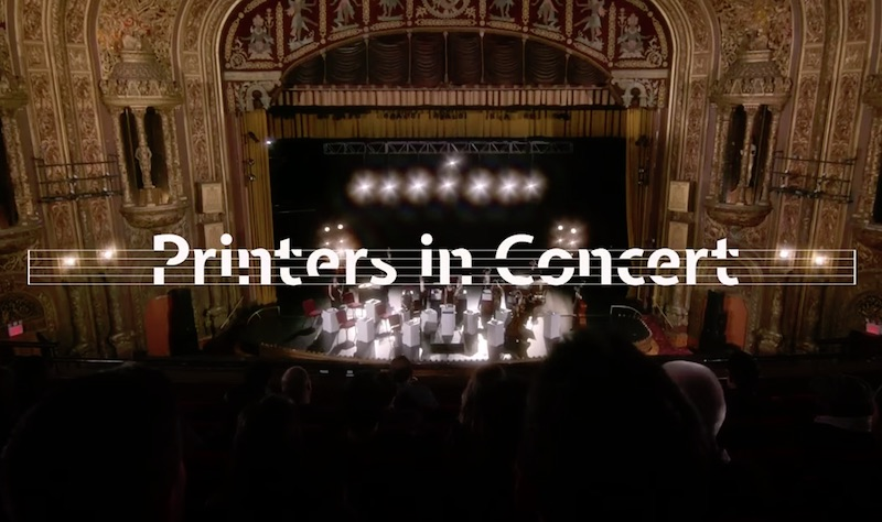 imageCLASS Printers in Concert Experience