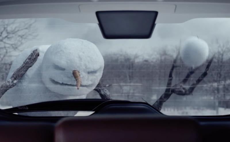 Nissan Rogue - Return of the Snowman