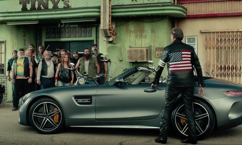 Mercedes-AMG GT Roadster Commercial Easy Driver