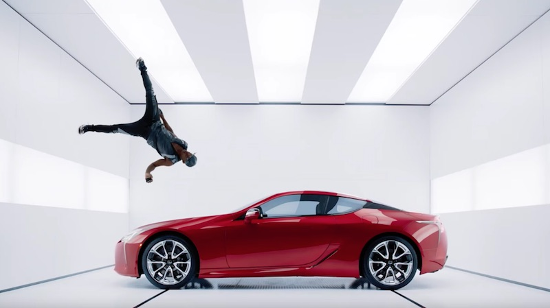Lexus LC Commercial Man and Machine