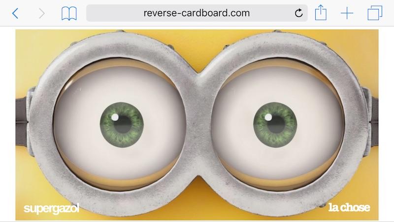 Reverse Cardboard