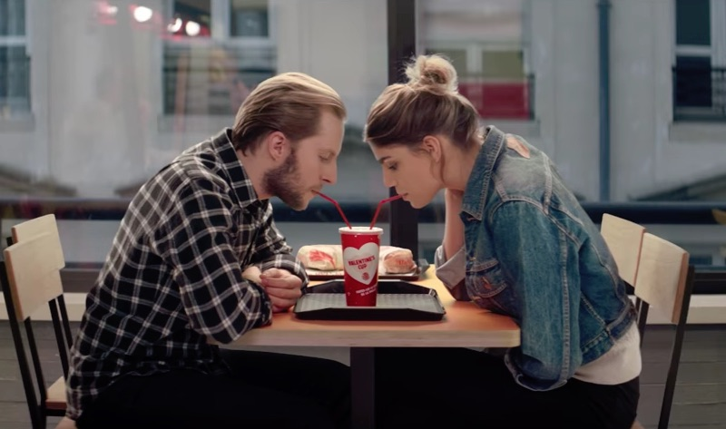 BURGER KING - VALENTINE'S CUP