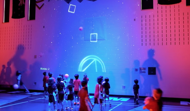 Interactive Gym Wall