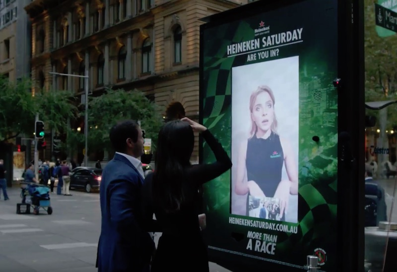 Heineken challenges commuters to give their all for F1 tickets