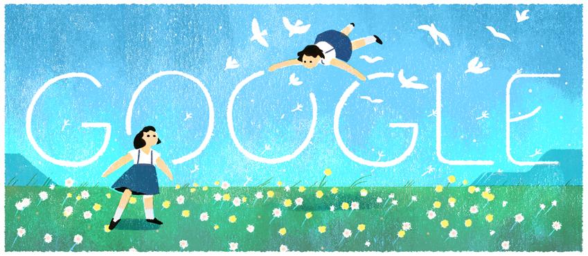 Google 童謡詩人金子みすゞ生誕114周年記念ロゴに!