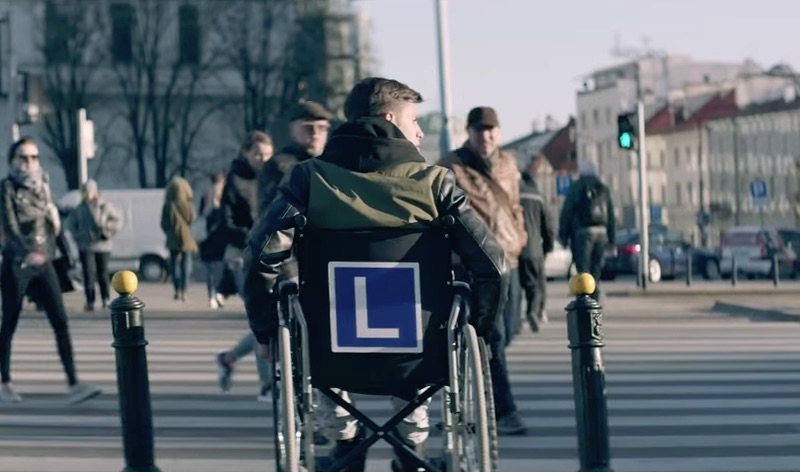 The wheelchair hour - Young Drivers Campaign
