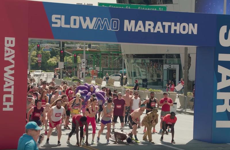 The Baywatch Slow Mo Marathon