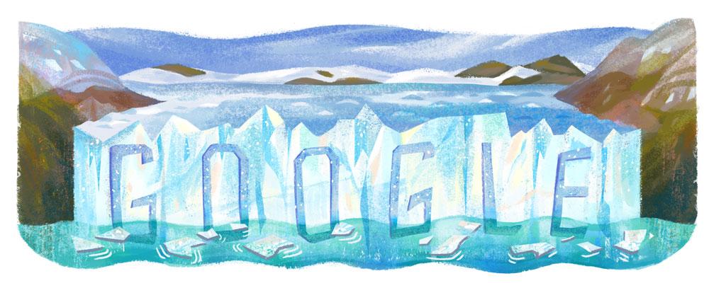 Google アルゼンチンのロス・グラシアレス国立公園設立80周年記念ロゴに!