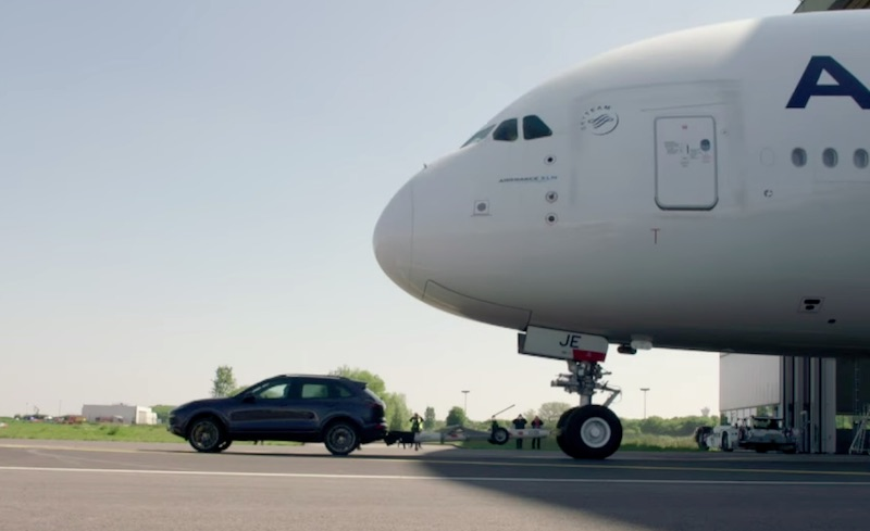 Air France et Porsche : Nouveau Guinness World Records
