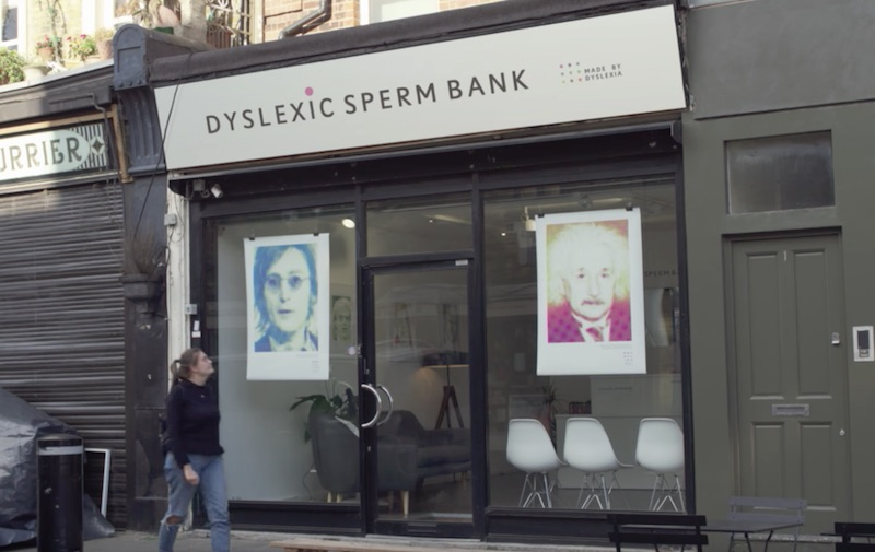 Dyslexic Sperm Bank