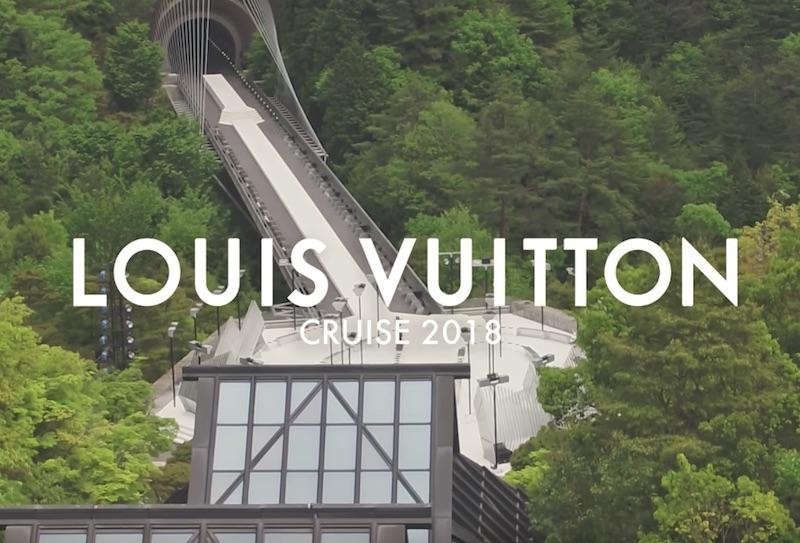 ルイ・ヴィトンが滋賀の山奥で行ったファッションショー「The Louis Vuitton Cruise 2018」
