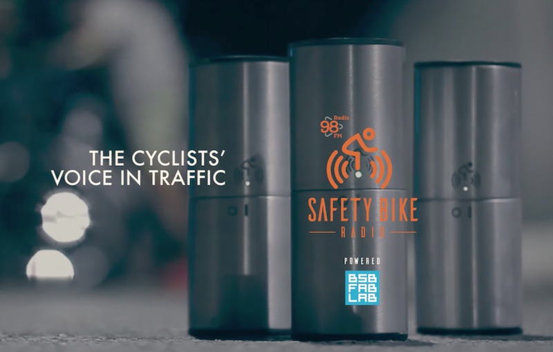 SAFETY BIKE RADIO