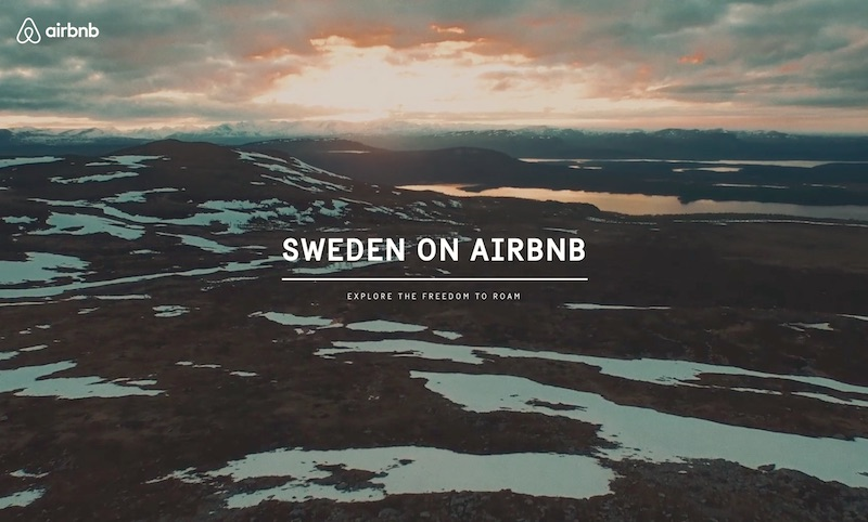 Sweden on Airbnb
