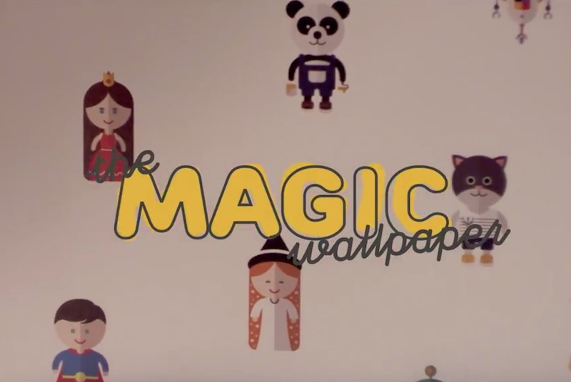 The Magic Wallpaper - Castorama