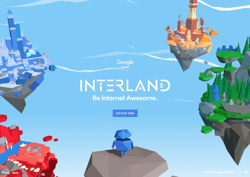 Interland: Play your way to Internet Awesome