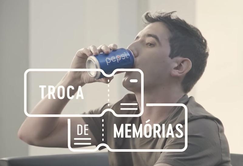 Pepsi e UEFA Champions League | Troca de Memórias