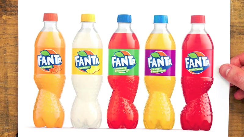 Designing the Fanta Spiral Bottle
