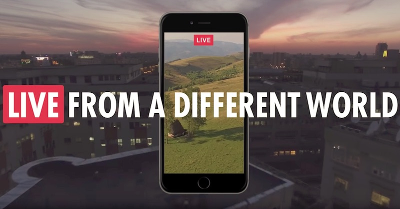 LIVE. FROM A DIFFERENT WORLD
