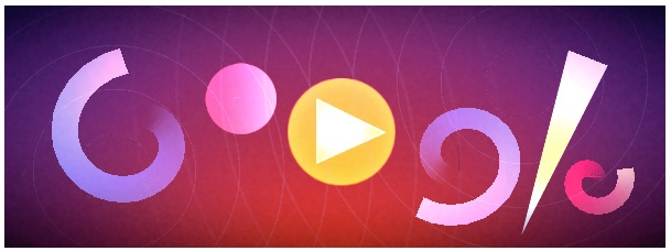 Google オスカー・フィッシンジャー生誕117周年記念で、音楽とビジュアルで遊べるロゴに!