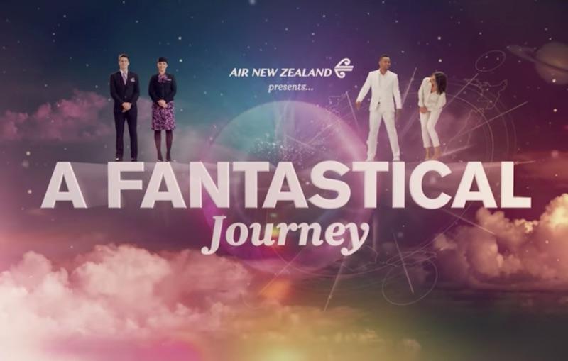 Fantastical Journey - #AirNZSafetyVideo