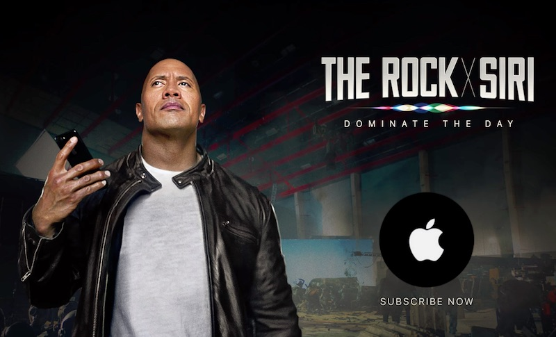 The Rock x Siri Dominate the Day