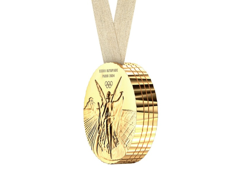 The Paris 2024 Olympic Medal