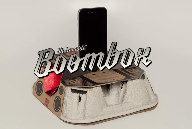 McDonald's Boombox