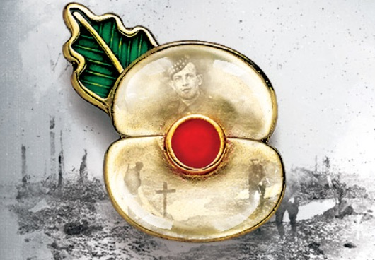 Creating The Passchendaele 100 Poppy Pin