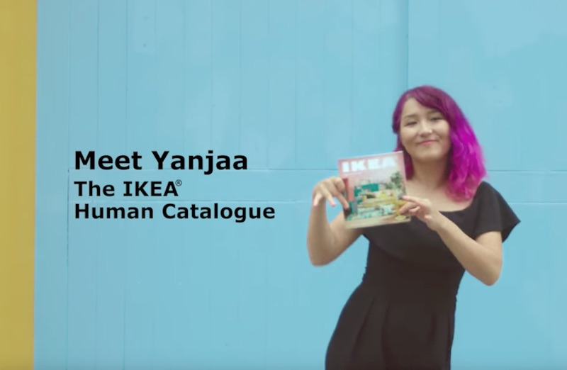 Meet Yanjaa, The IKEA Human Catalogue