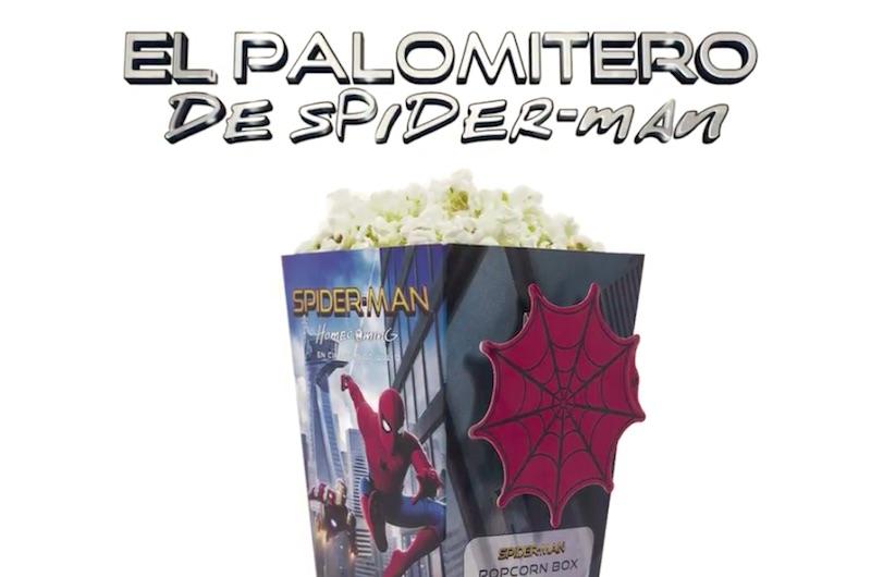 El palomitero de Spider-Man
