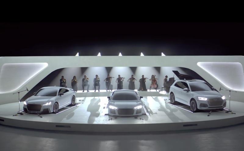 Audi Orchestra Campaign