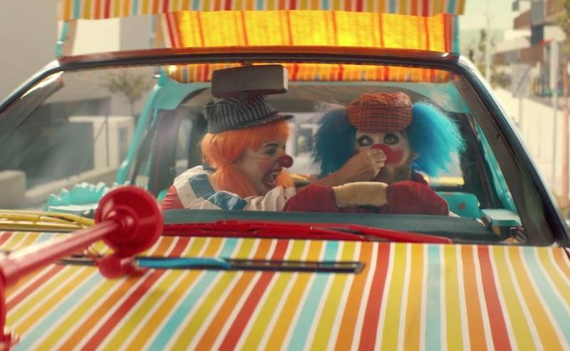 audi clowns