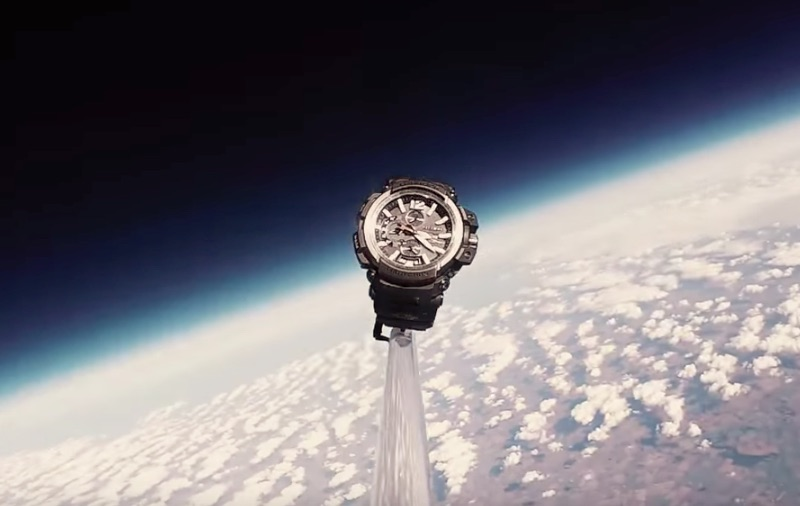G-SHOCK In Space
