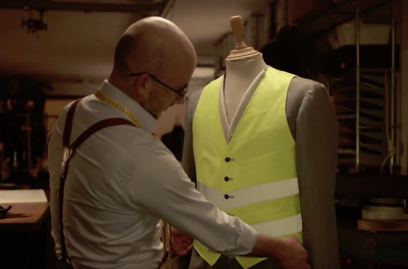 Volvo S90 Berline - Tailor made safety vest