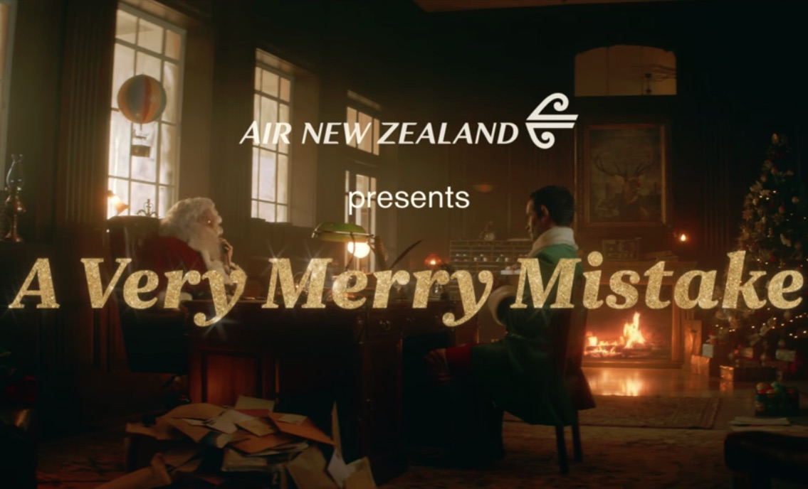 A Very Merry Mistake #MirryChristmus #AirNZXmas