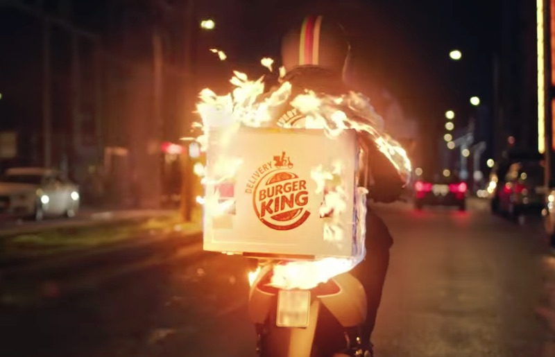 BURGER KING® - LIEFERSERVICE