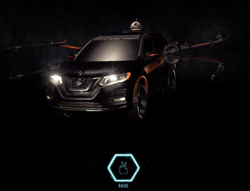 Command Your Craft with Star Wars The Last Jedi | Nissan USA