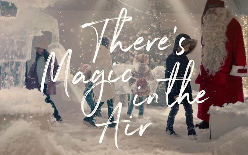 Magic in the air – A Christmas surprise from Finnair