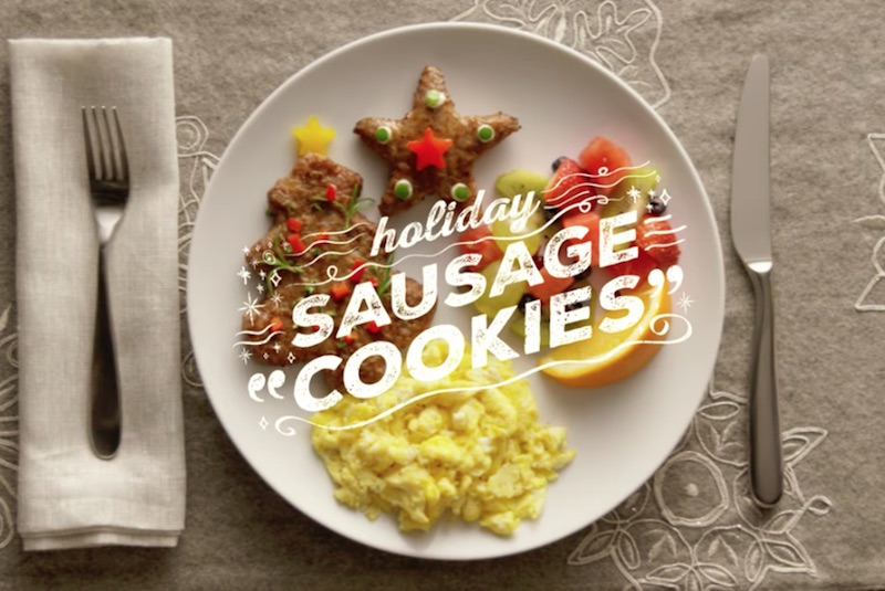 Jimmy Dean Holiday Sausage Cookies