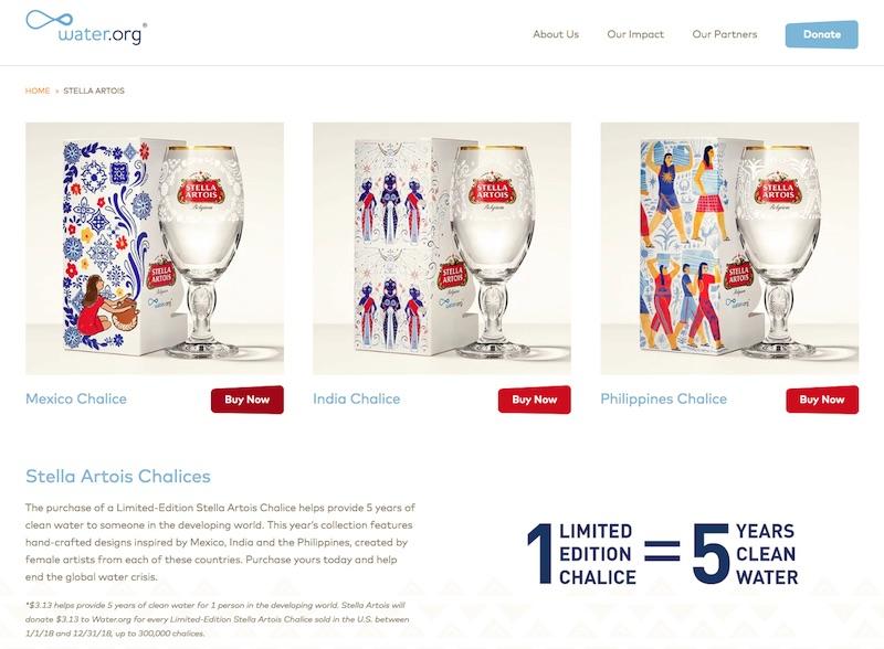 Taps | Stella Artois + Water.org