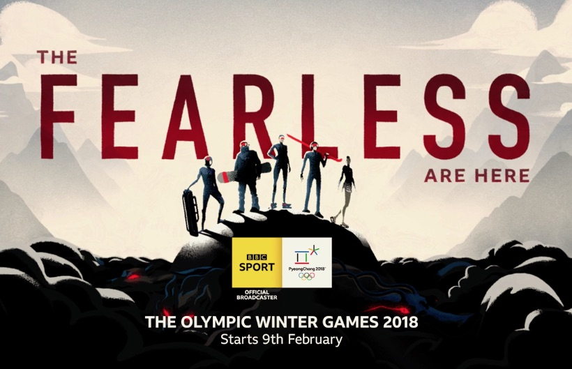 BBC Winter Olympics - The Fearless are Here