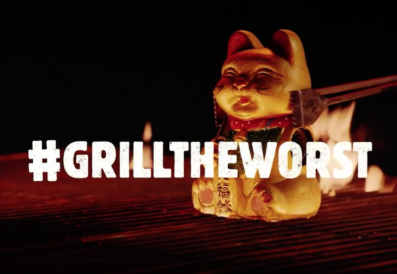 #GRILLTHEWORST – Launch Grilled Dogs BURGER KING