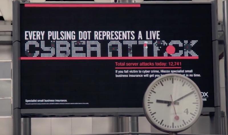 Hiscox CyberLive Campaign