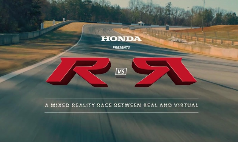 Honda and Forza Motorsport 7 present R vs R