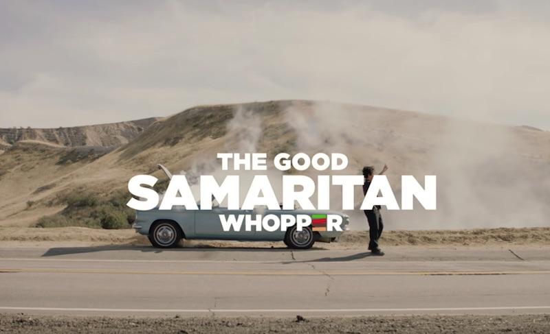 Burger King | Good Samaritan Whopper