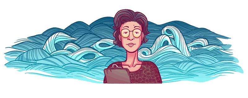 Google 科学者の猿橋勝子さん生誕98周年ロゴに!