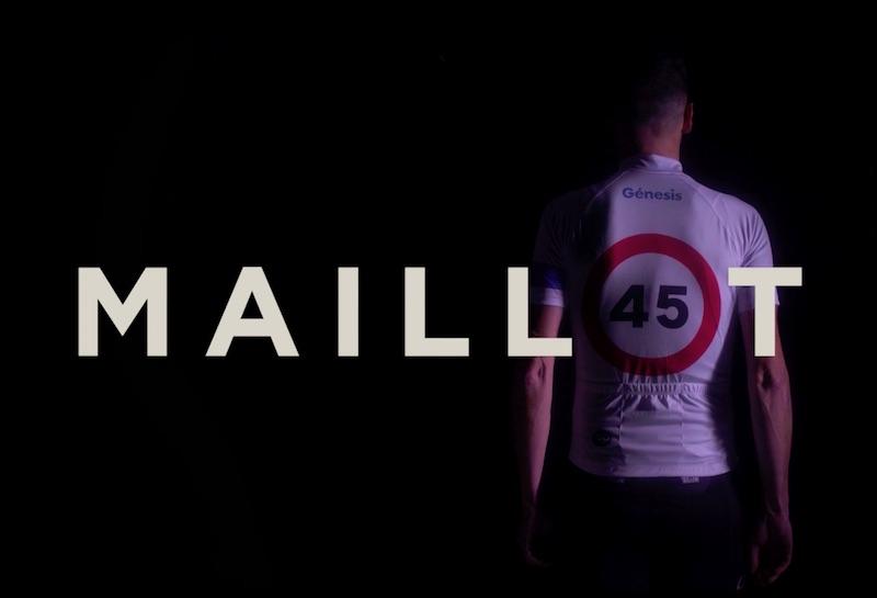Maillot 45 Génesis Seguros
